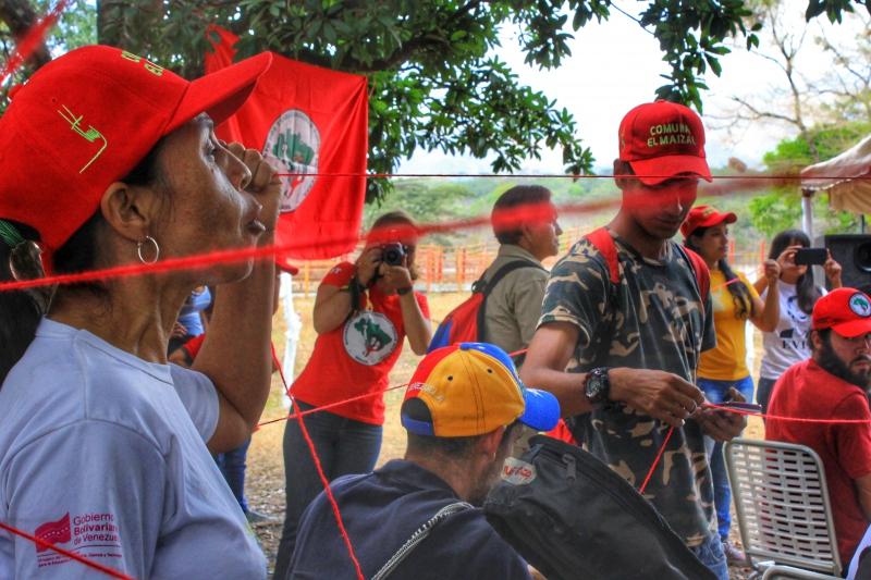 Anniversary of El Maizal Commune: Building networks